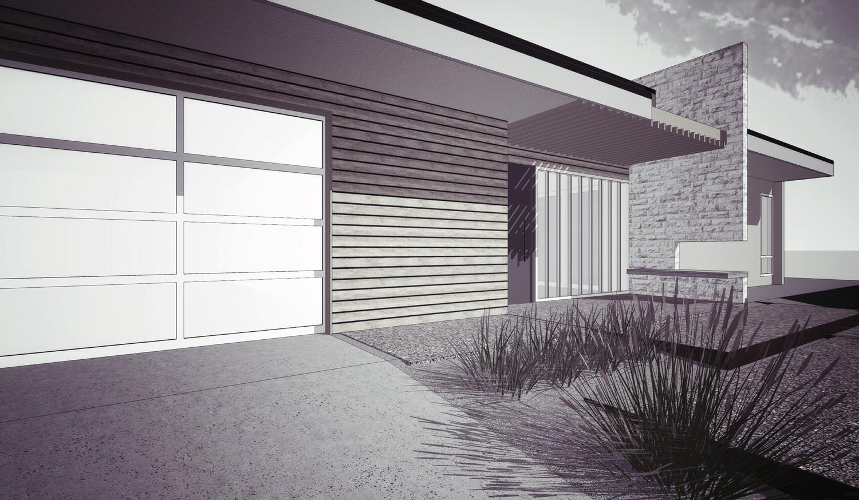 mid-century-exterior | modern materials