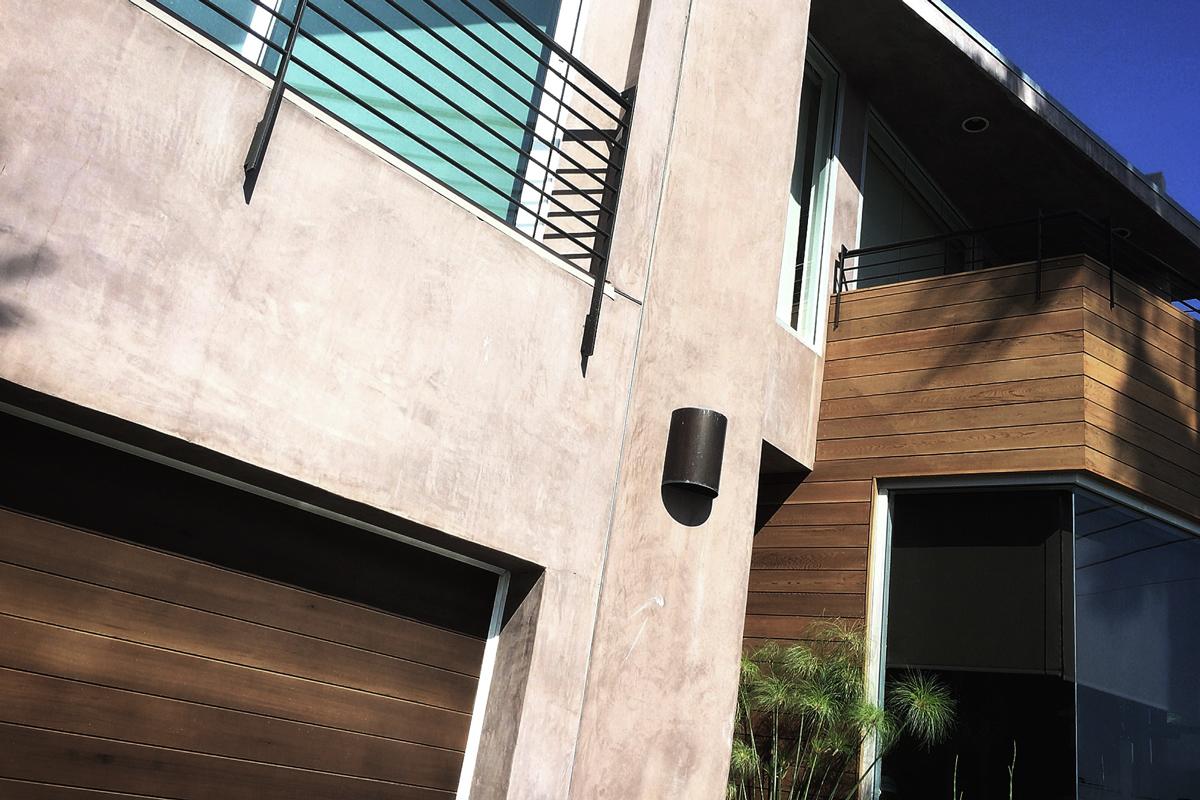 exterior cedar cladding /   san clemente