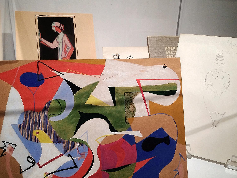 paintings + drawings  / Ray Eames