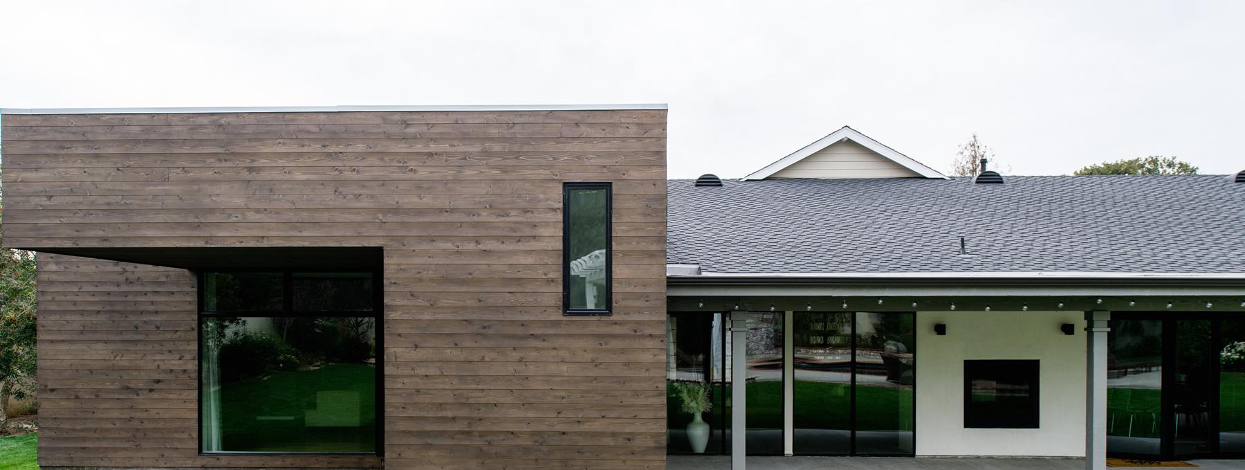 villa park modern  / residential addition + renovation