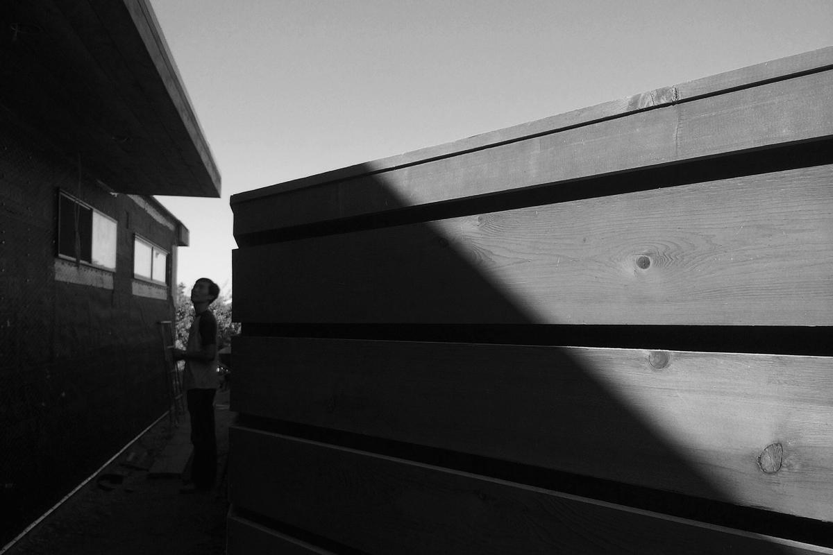 jason at sideyard / modern cedar fence
