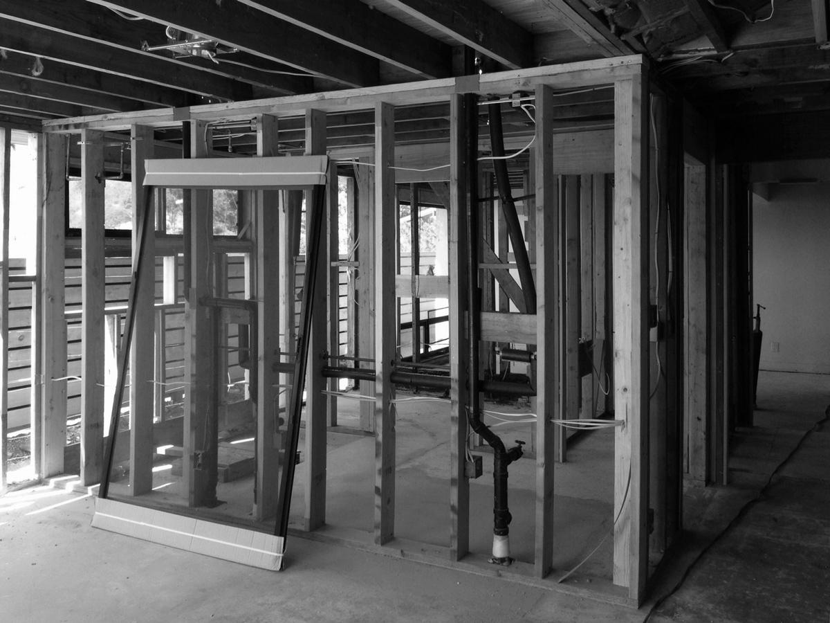 interior framing / master