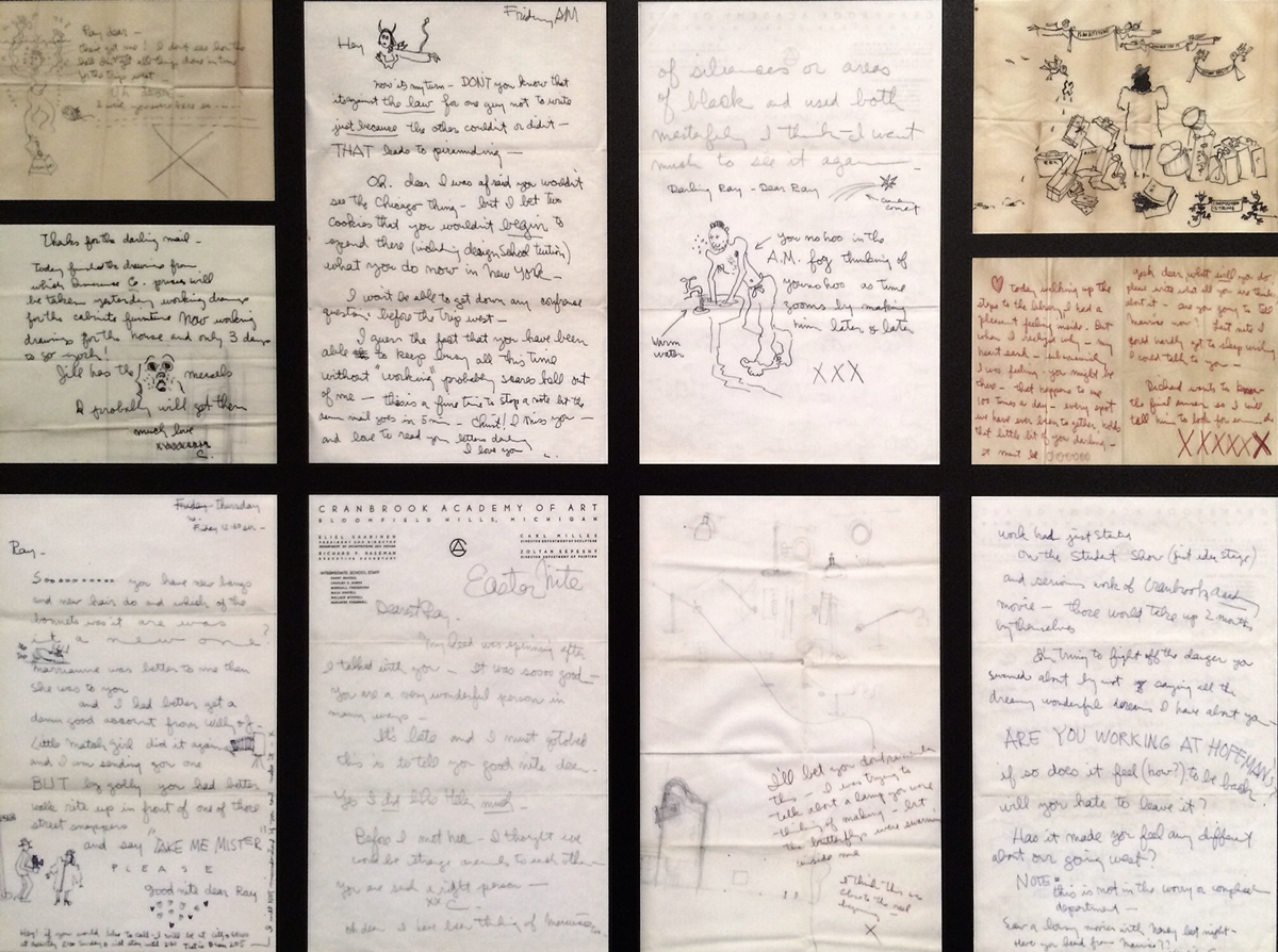 letters from Charles /  Ray Eames: In the Spotlight