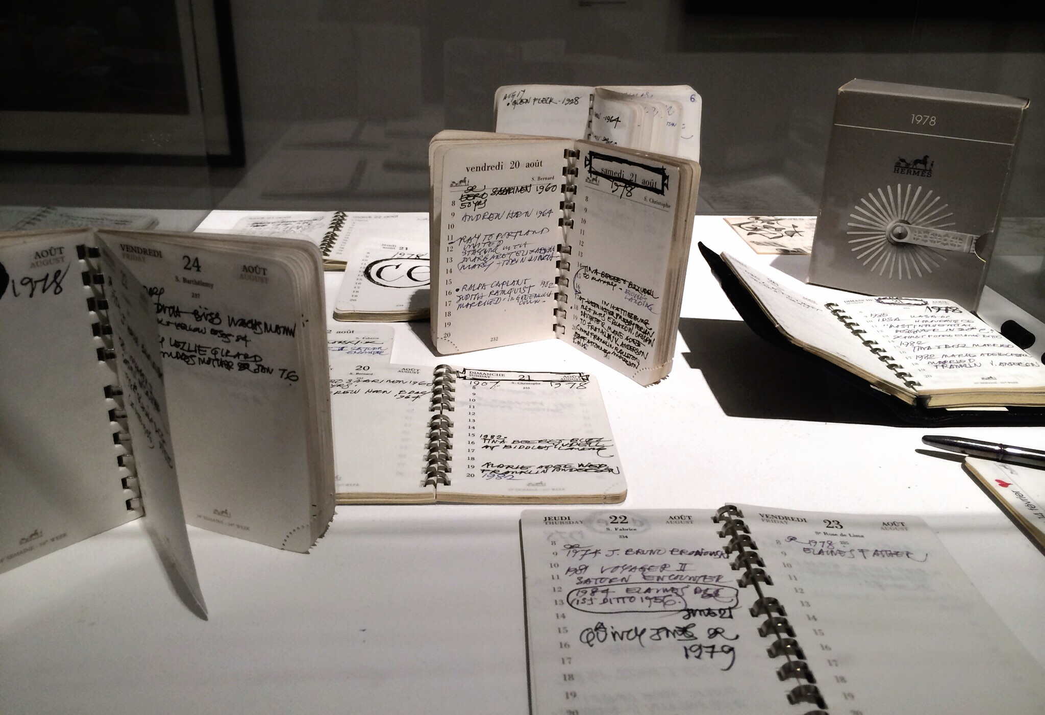 notes + schedules /  Ray Eames