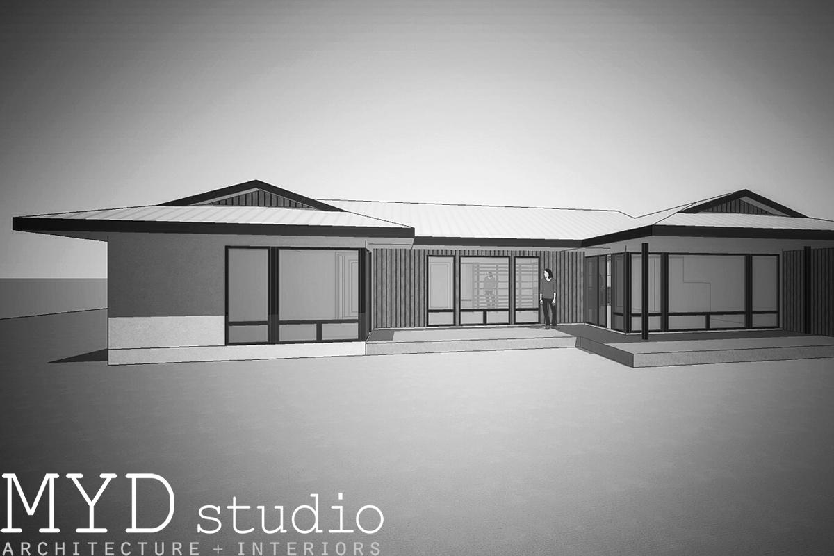 design rendering / rear perspective
