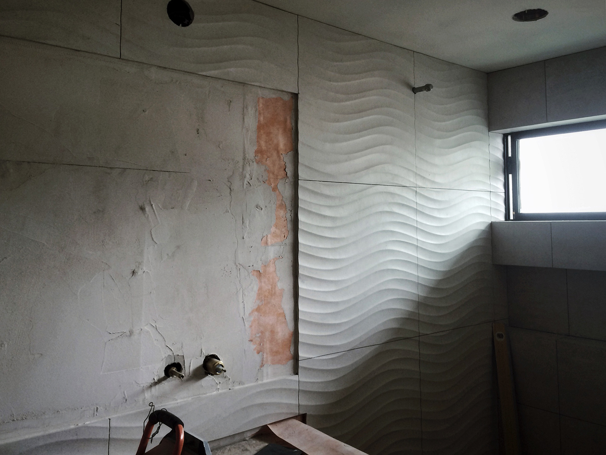 construction / tile alignment