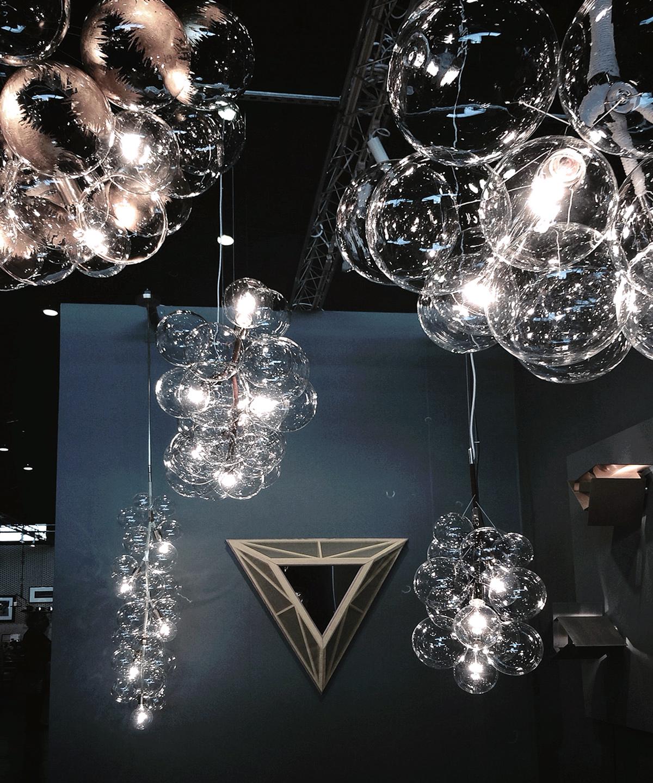 PELLE Designs  //  bubble chandeliers