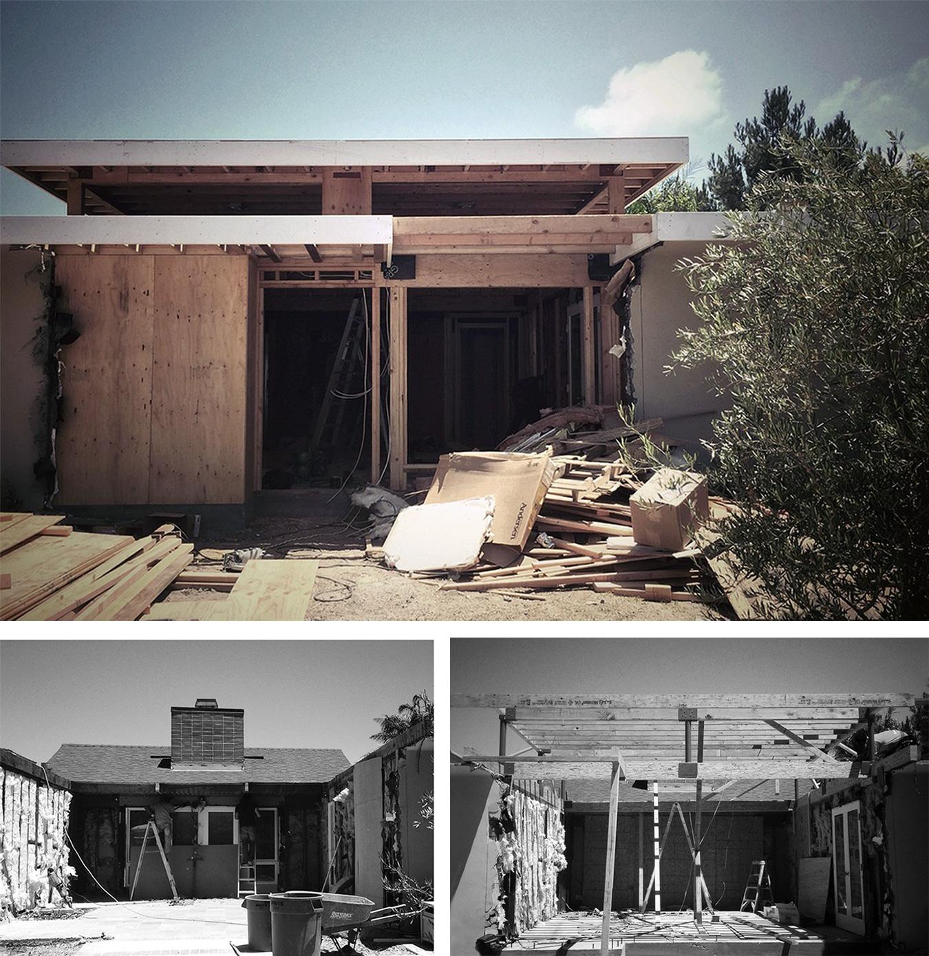 demolition   //   framing