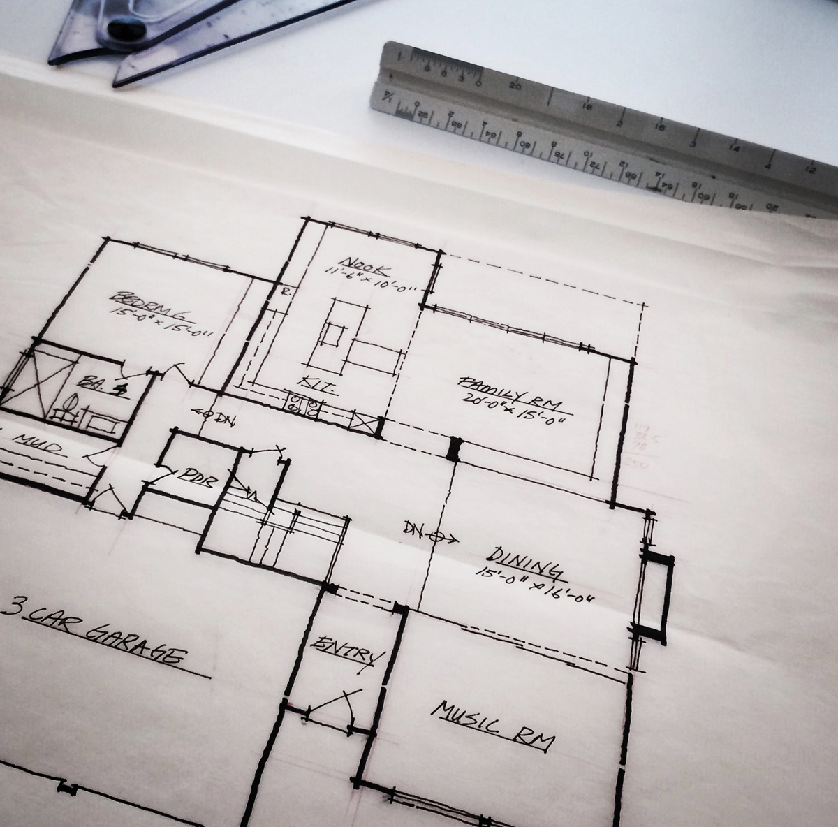 Floor plan design, Irvine, CA / MYD studio