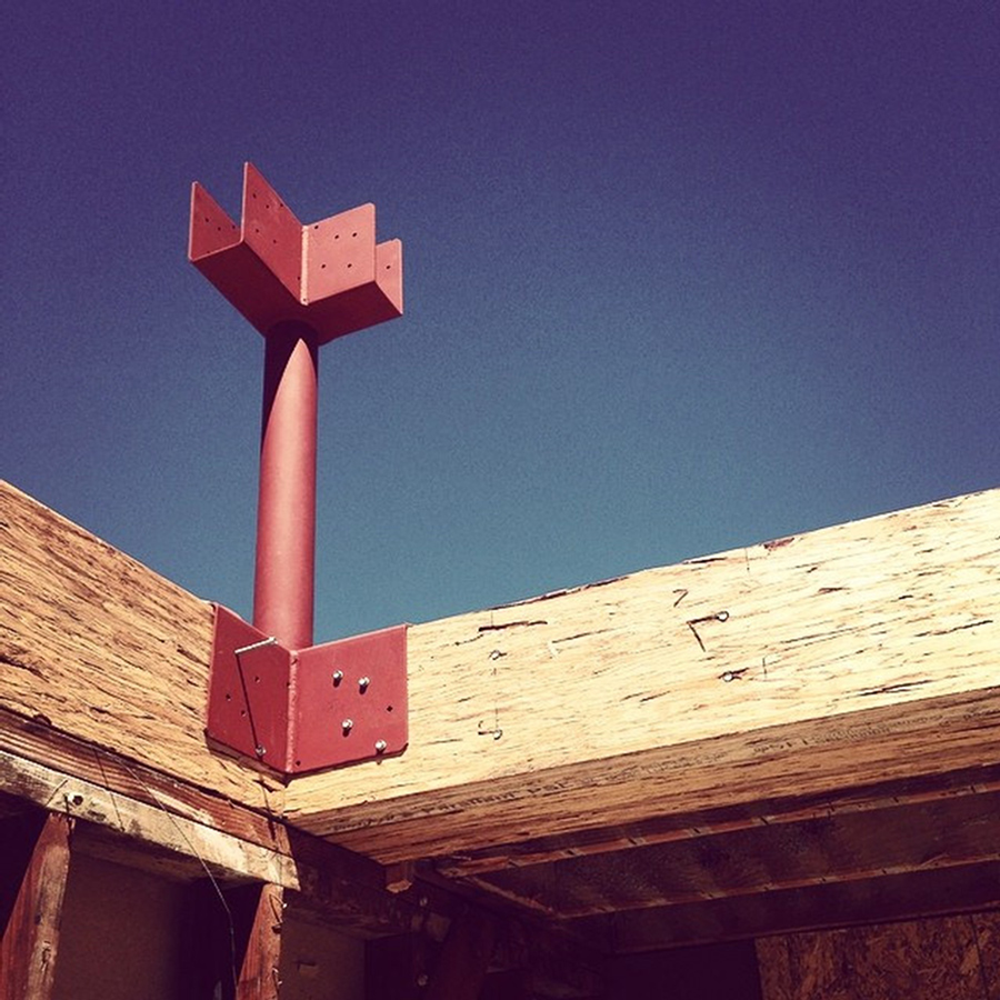 clerestory construction: images from the site   // august 2014
