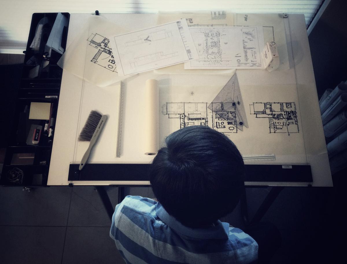 north laguna schematic design process // myd studio