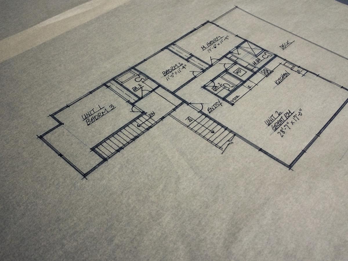 schematic floor plan // level 2