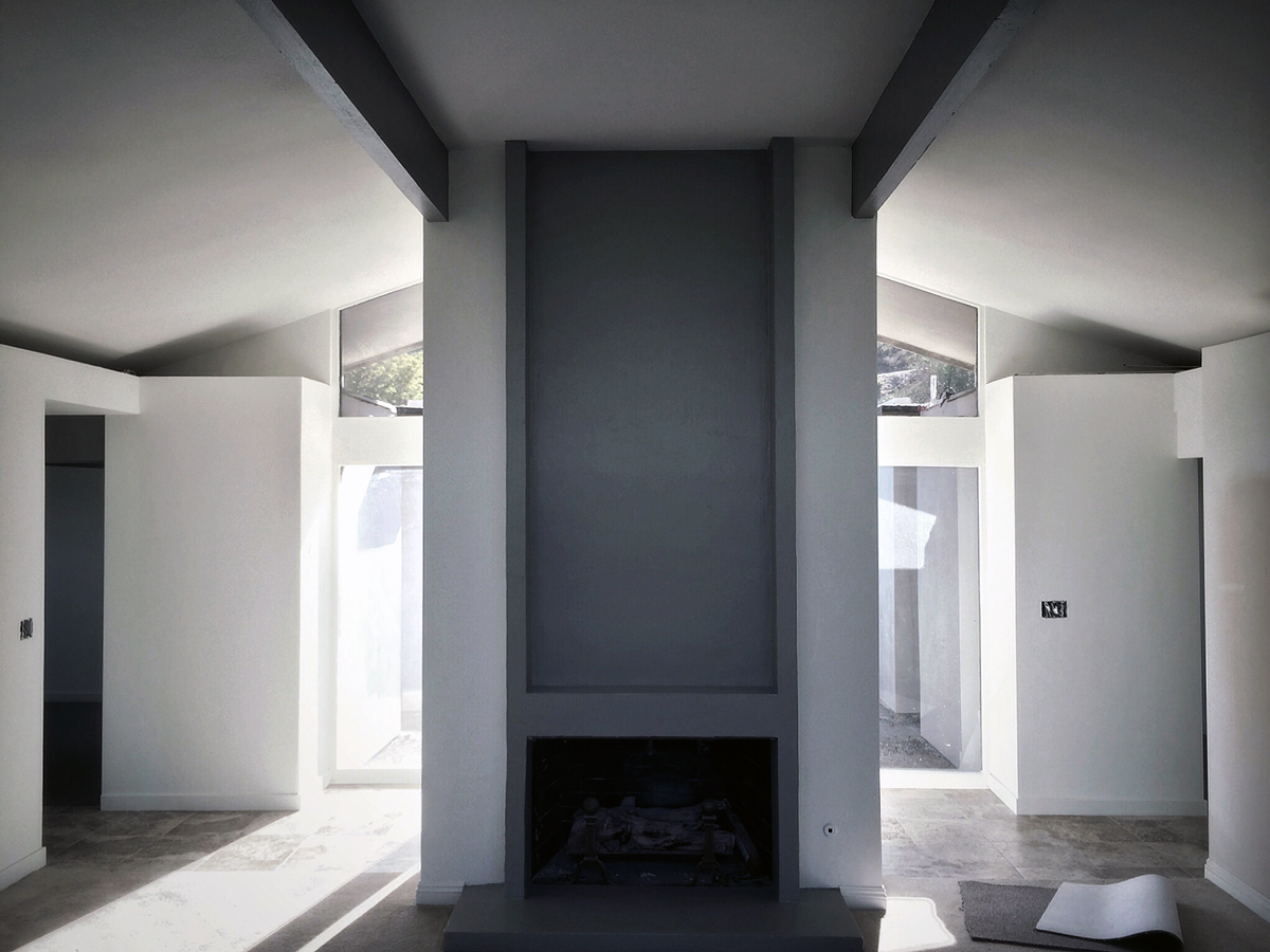 living room // open interior