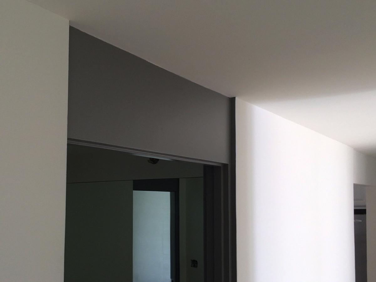 mid-century interior details // modern door headers