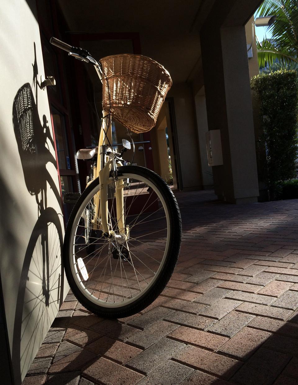 bikes at myd studio, vantis, aliso viejo