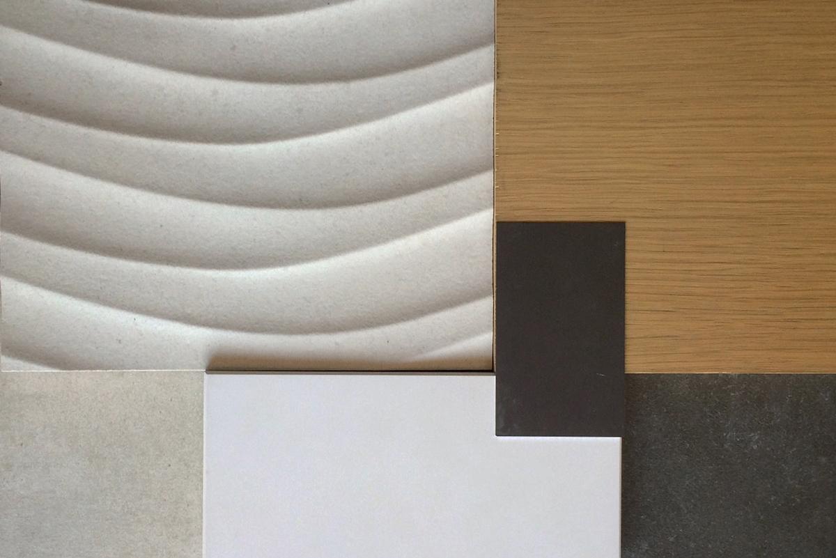 dimensional tile, rift oak, quartz  //  national park dr, laguna niguel