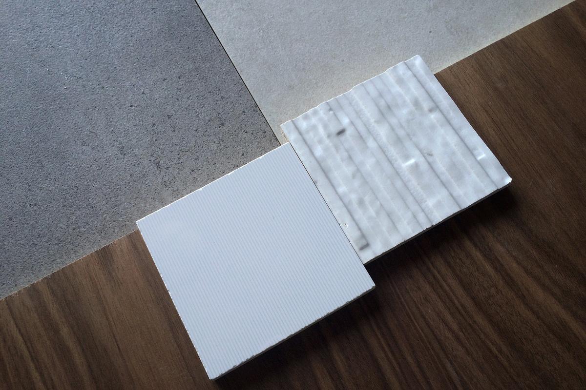 walnut, porcelanosa wall tile  //  portofino dr, mission viejo
