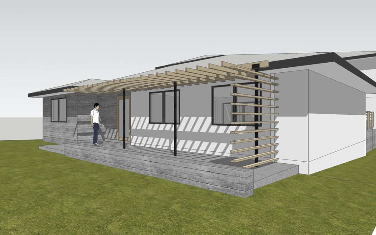 North Laguna residential remodel // design rendering by myd stud