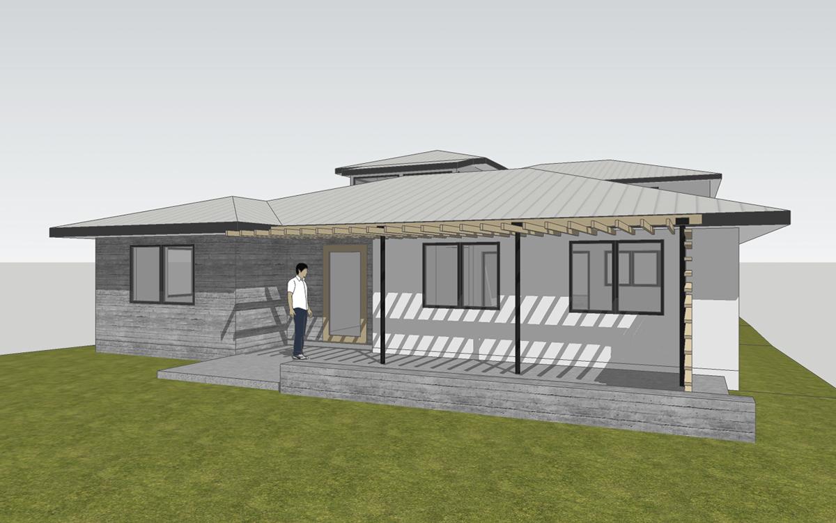 new exterior design / north laguna cottage