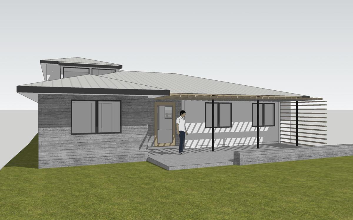 front elevation / north laguna cottage