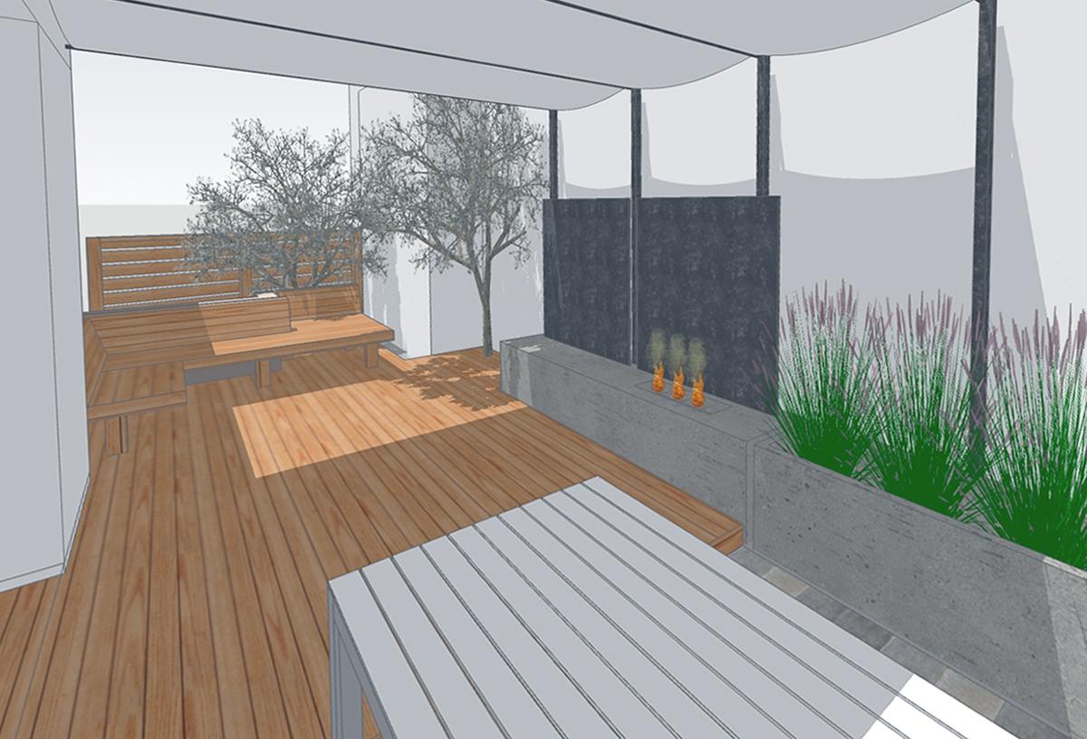 modern exterior design // design rendering