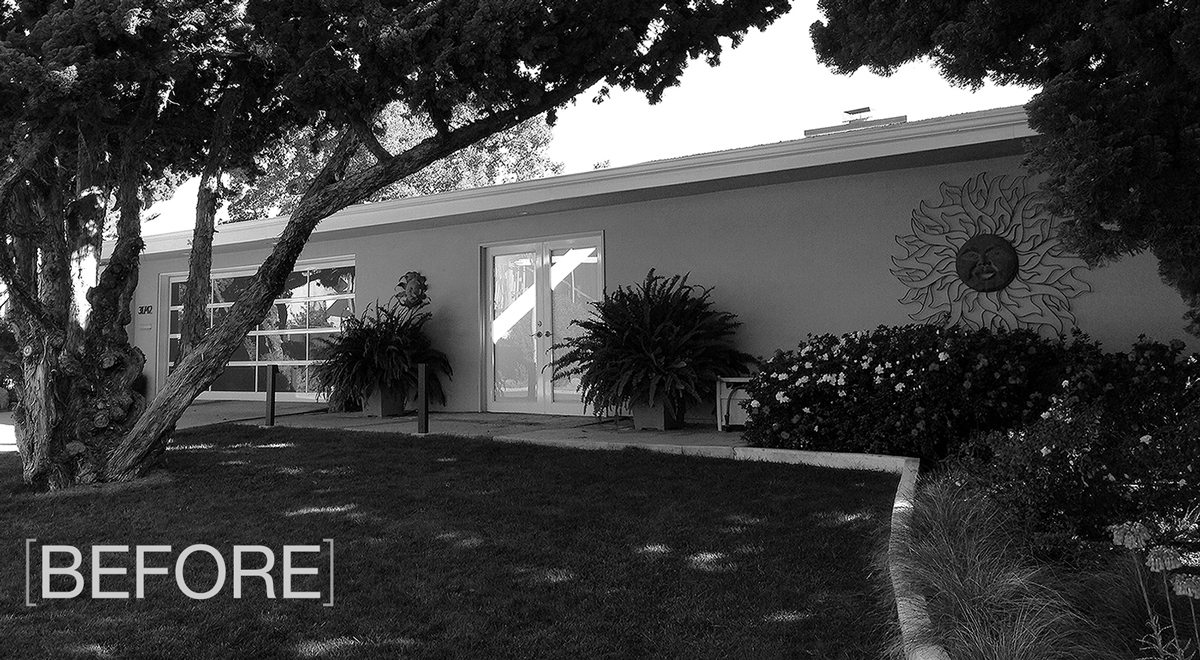 Modern Renovation, Niguel West // BEFORE photo