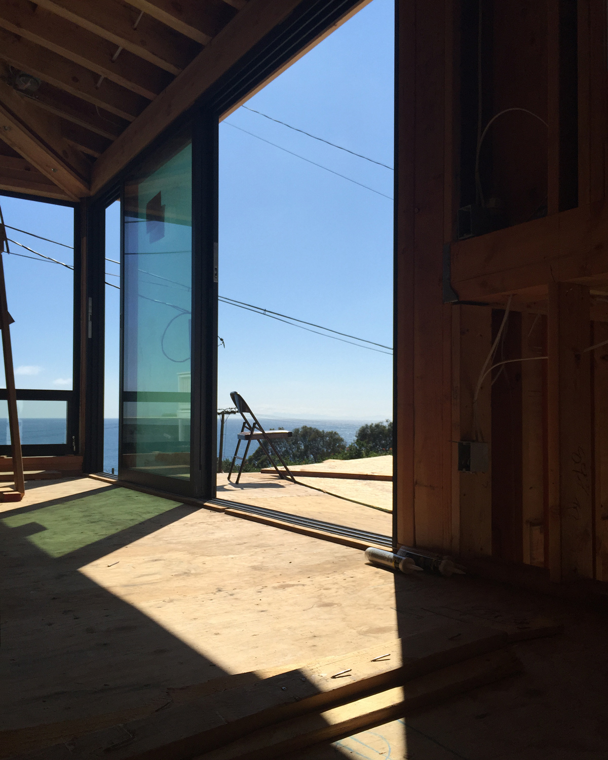 fleetwood multislide door system at deck