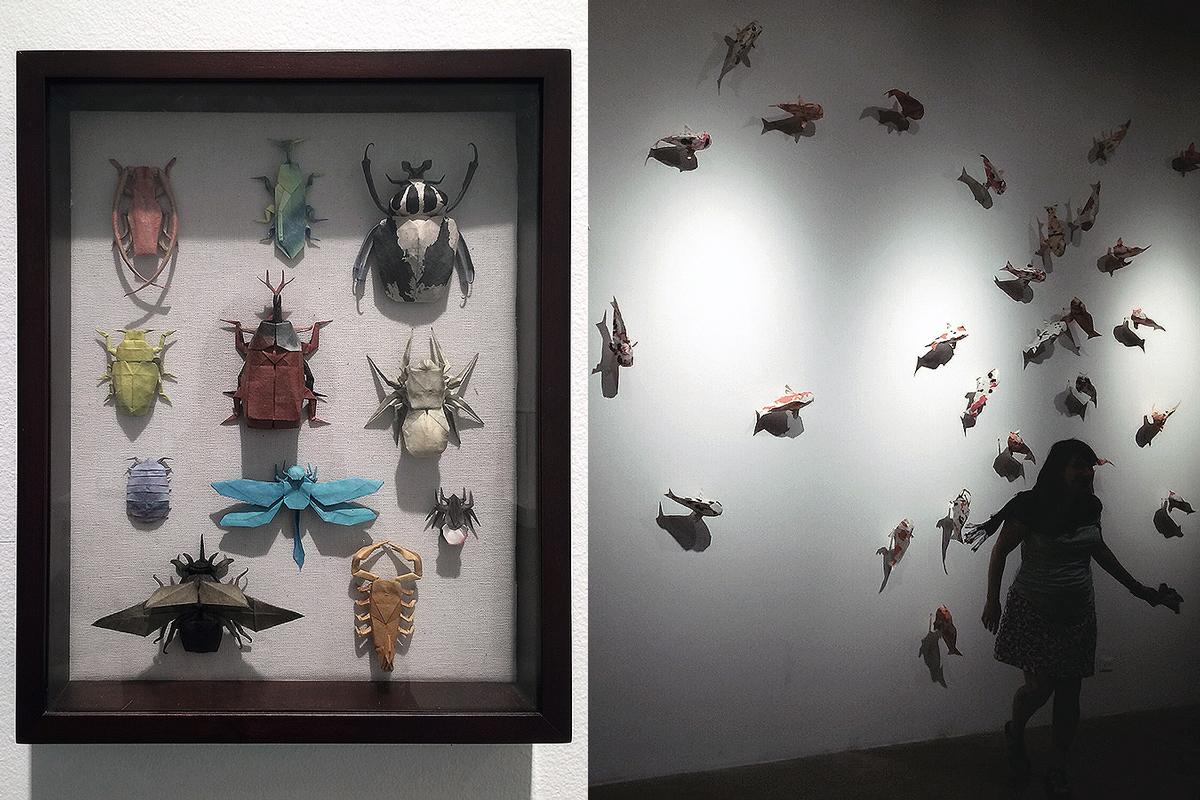 Folded: The Origami Art of Robert J. Lang  / art center, pasadena