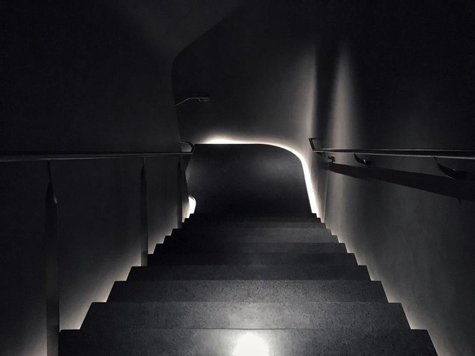 interior stairwell / the vault