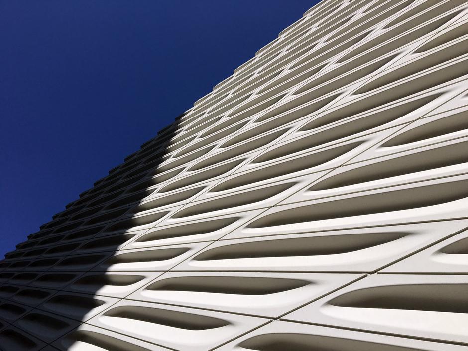 concrete facade at exterior