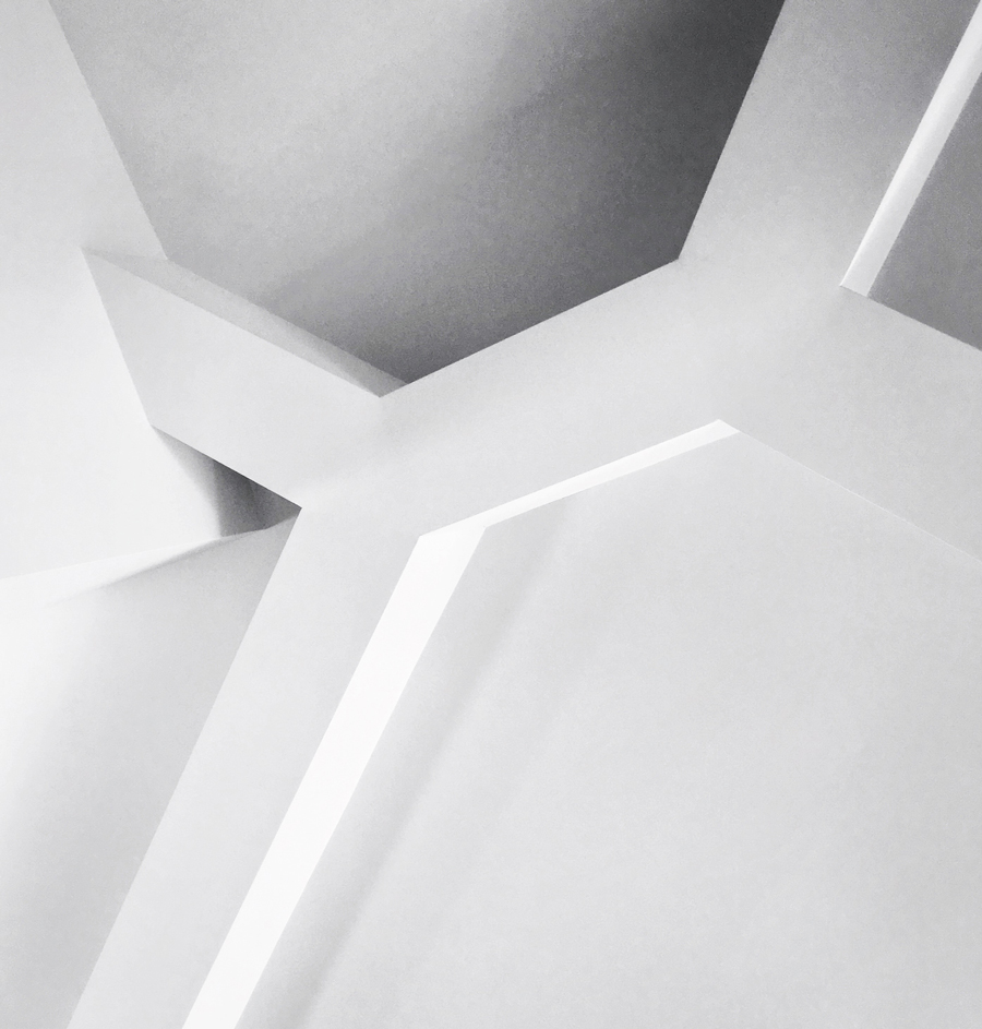 structure at ceiling / great room