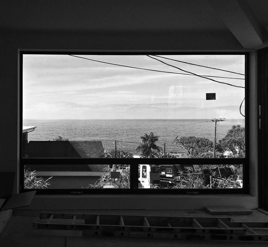 ocean views / living room