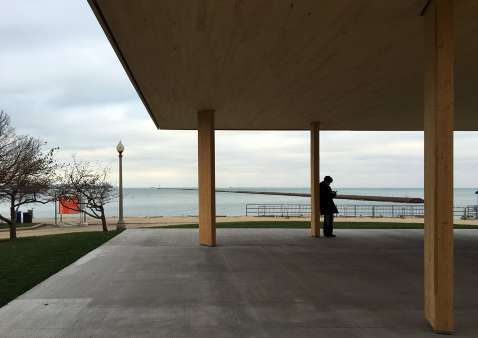 chicago horizon by ultramoderne  /  lakefront kiosk competition
