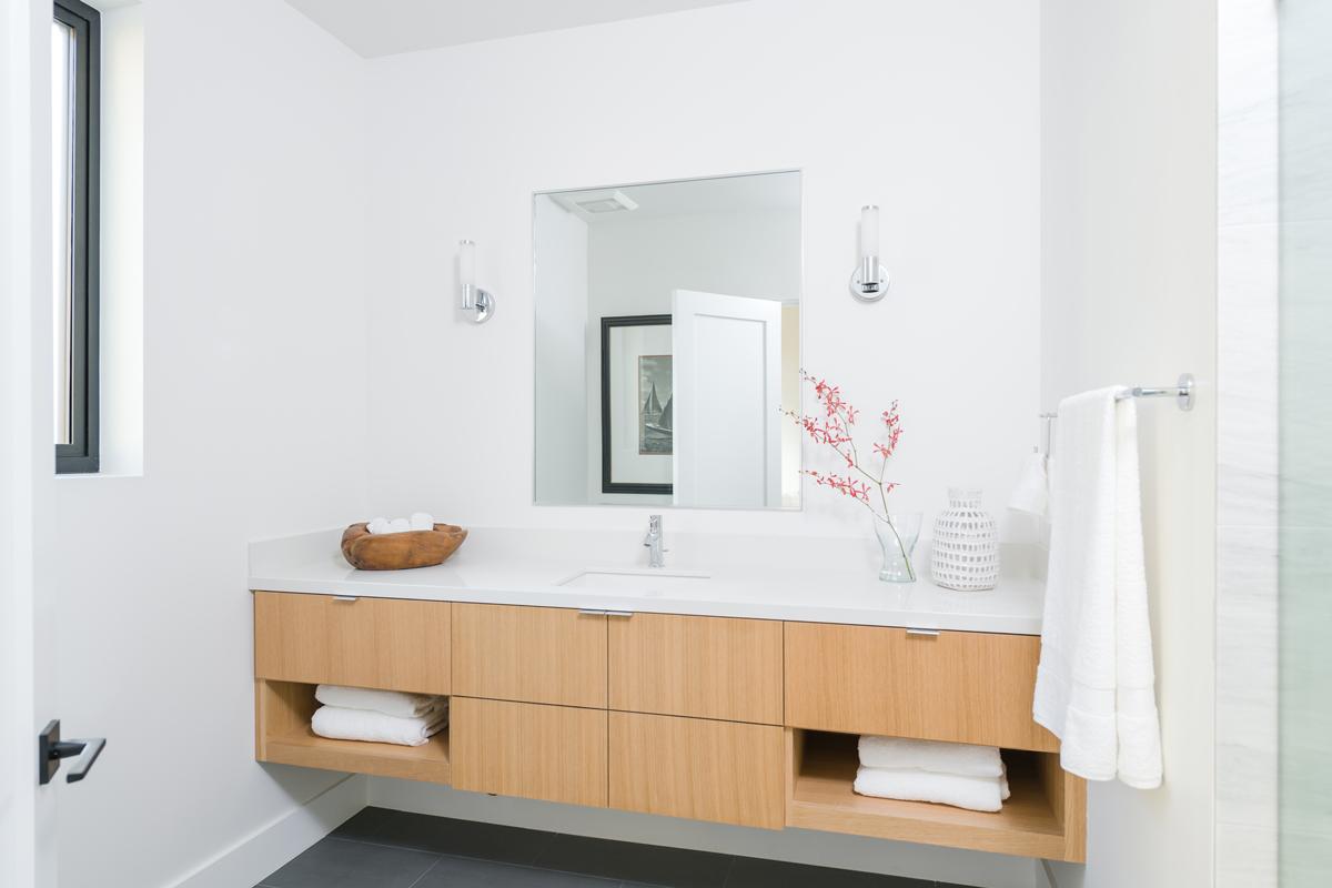 custom vanity / secondary bedroom