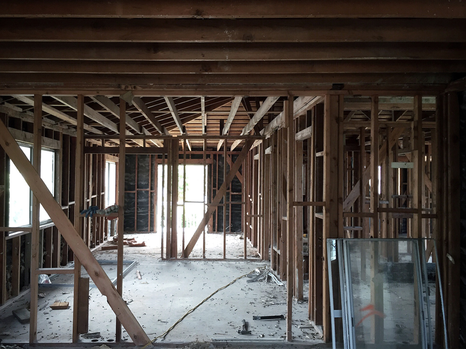 North Laguna Renovation / interior demolition progress