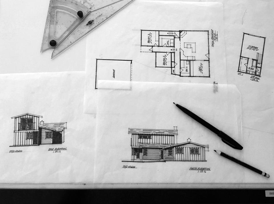 preliminary design sketch