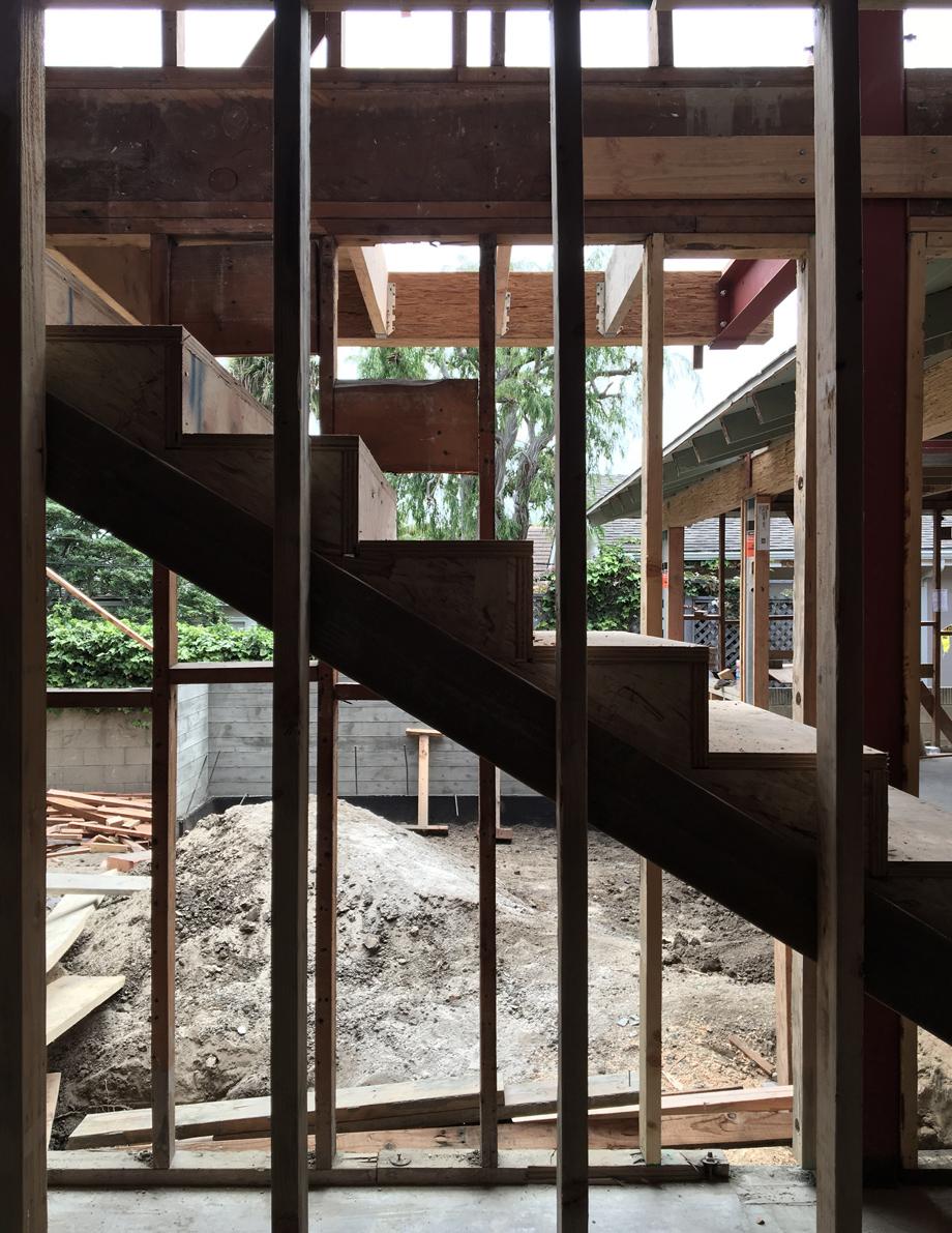 interior stair framing