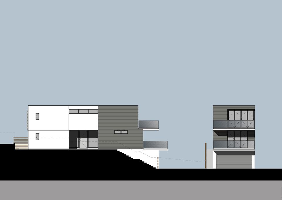 left / front elevation