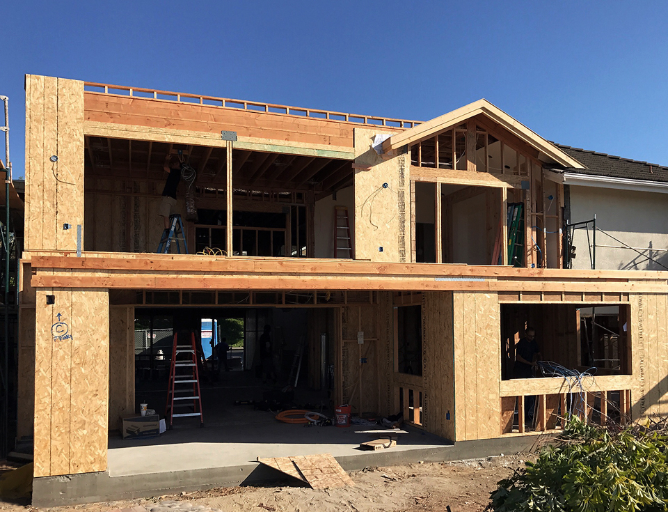 covered porch + deck / irvine addition