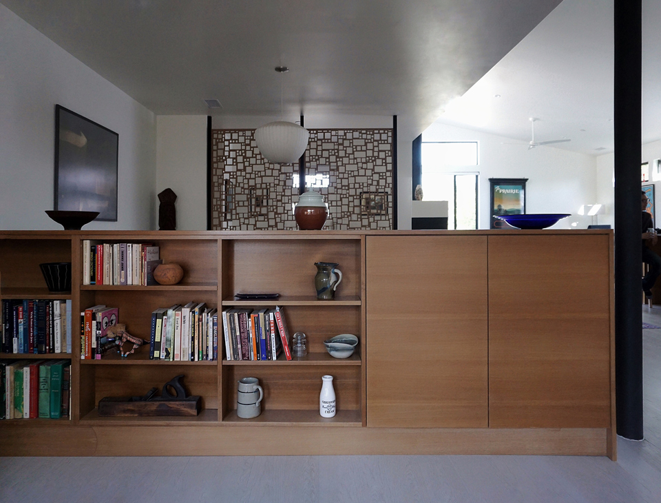 cabinetry at study