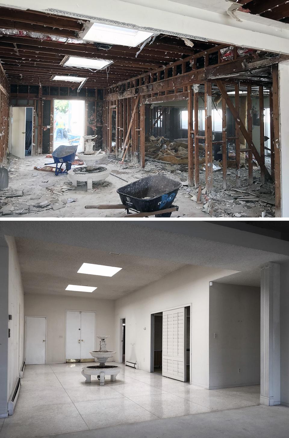 entry foyer [demo / before]