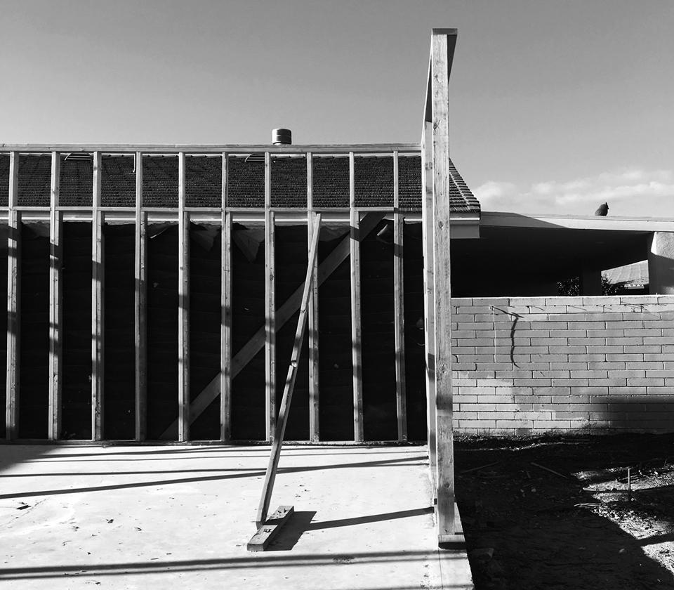 huntington harbour mid-century modern / construction + demolitio