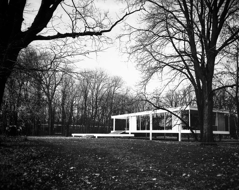 favorite buildings: farnsworth house photo album