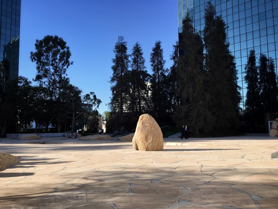 isamu noguchi's california scenario  / costa mesa, ca