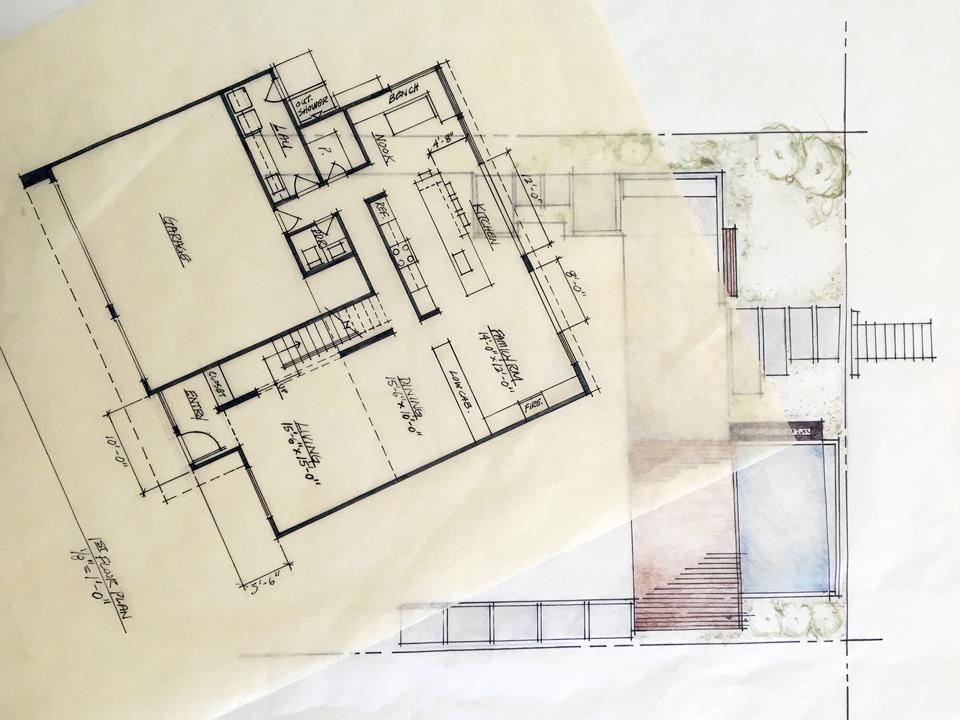first floor + landscape concept