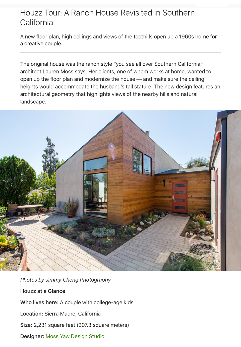 Houzz Tour: A Southern California Ranch House Revisited
