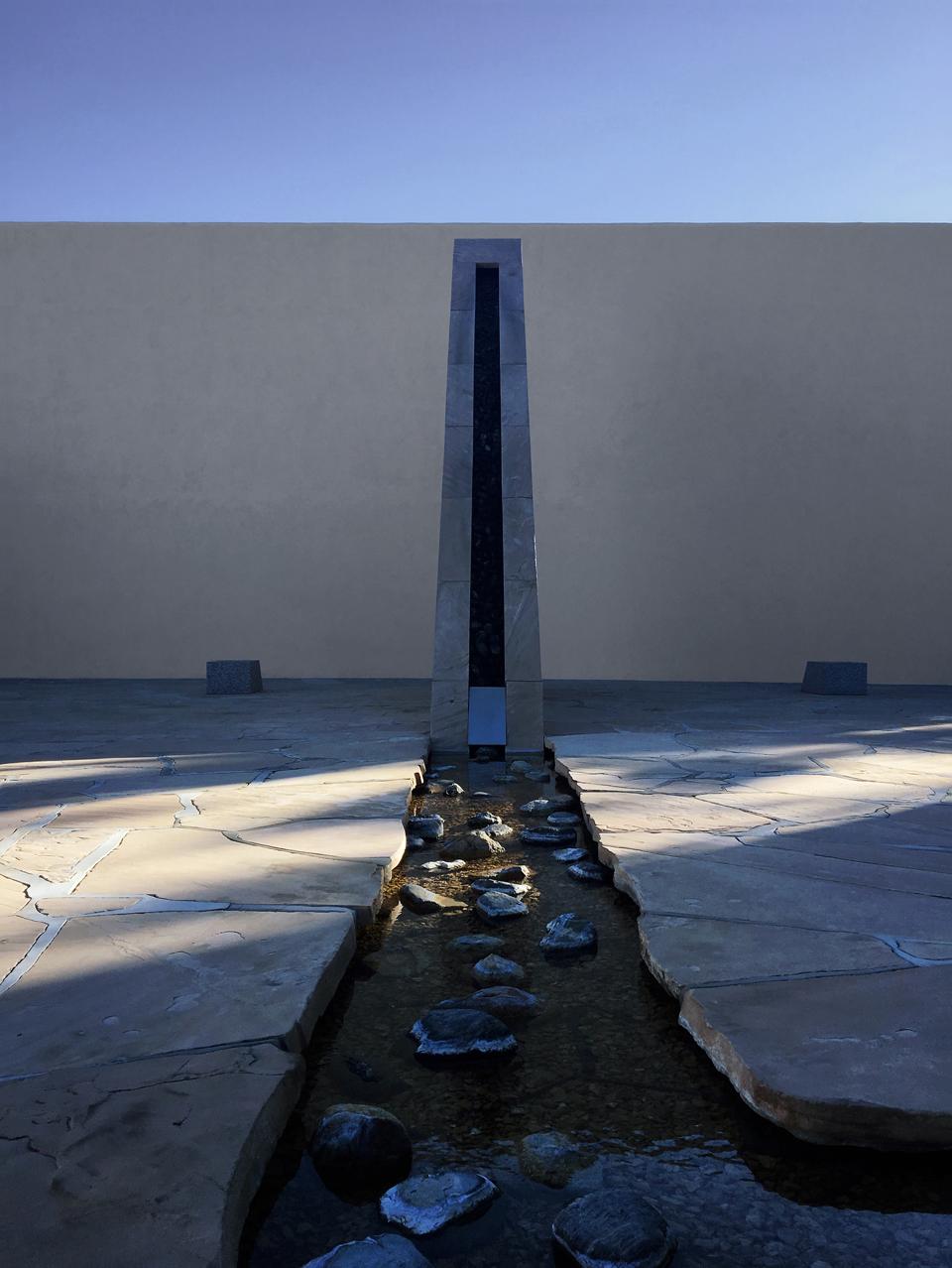 california scenario sculpture garden by isamu noguchi / costa mesa, ca