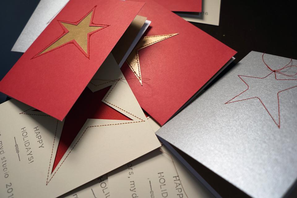 [last year's christmas cards]