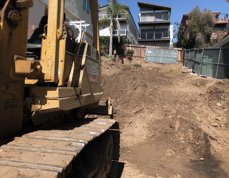 grading / laguna beach new construction