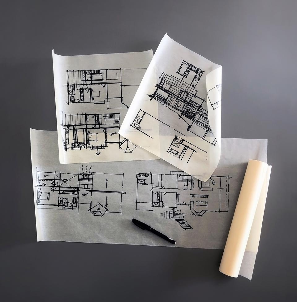 preliminary design sketches